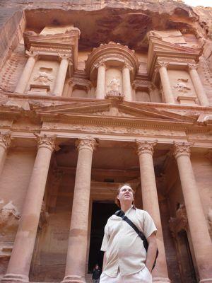 Kevin at Petra